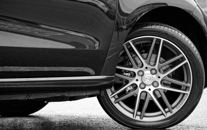 alloy wheel close up