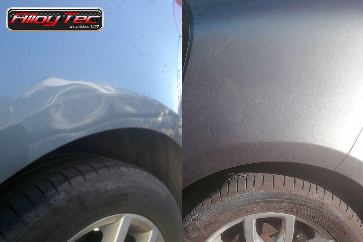 wheelarch ding repair